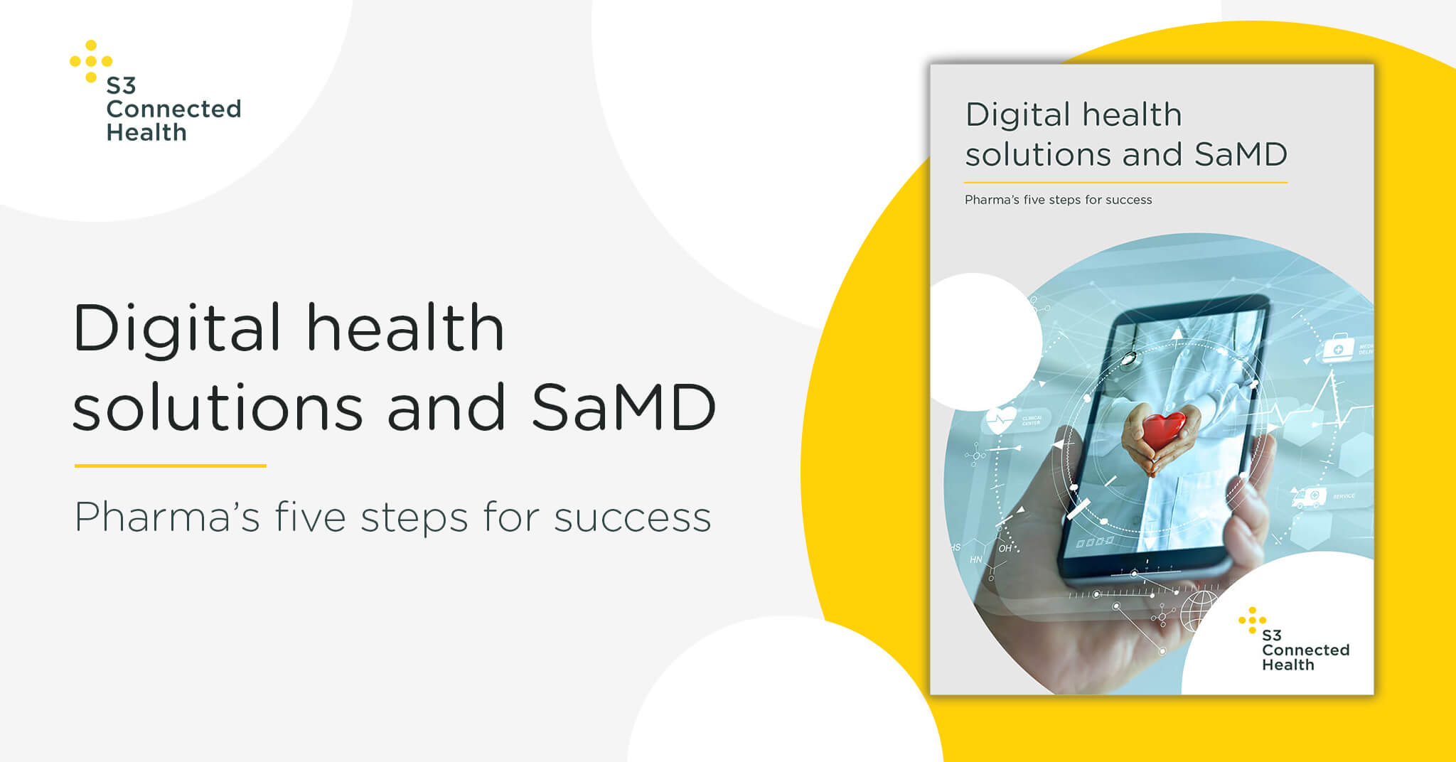 Whitepaper release: Digital health solutions and SaMD - pharma's five steps for success