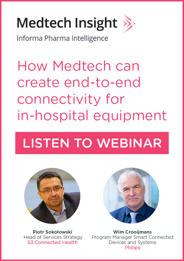 Webinar: How Medtech can create end-to-end connectivity for in-hospital equipment