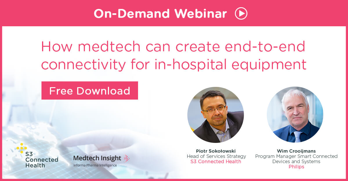 Beyond medical devices: How medtech can create end-to-end connectivity for in-hospital equipment