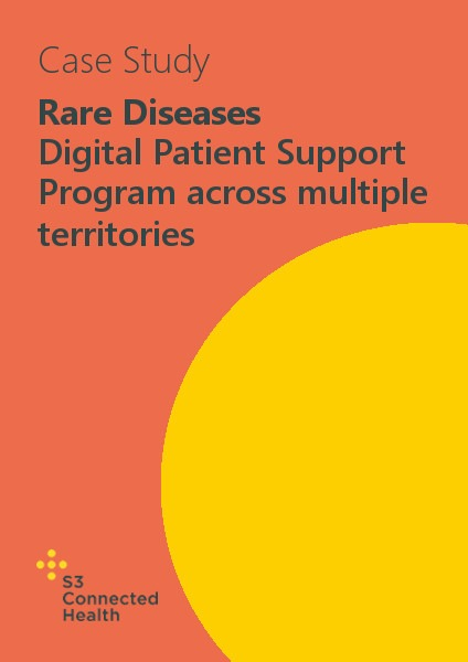 Rare Diseases Case Study Thumbnail Template