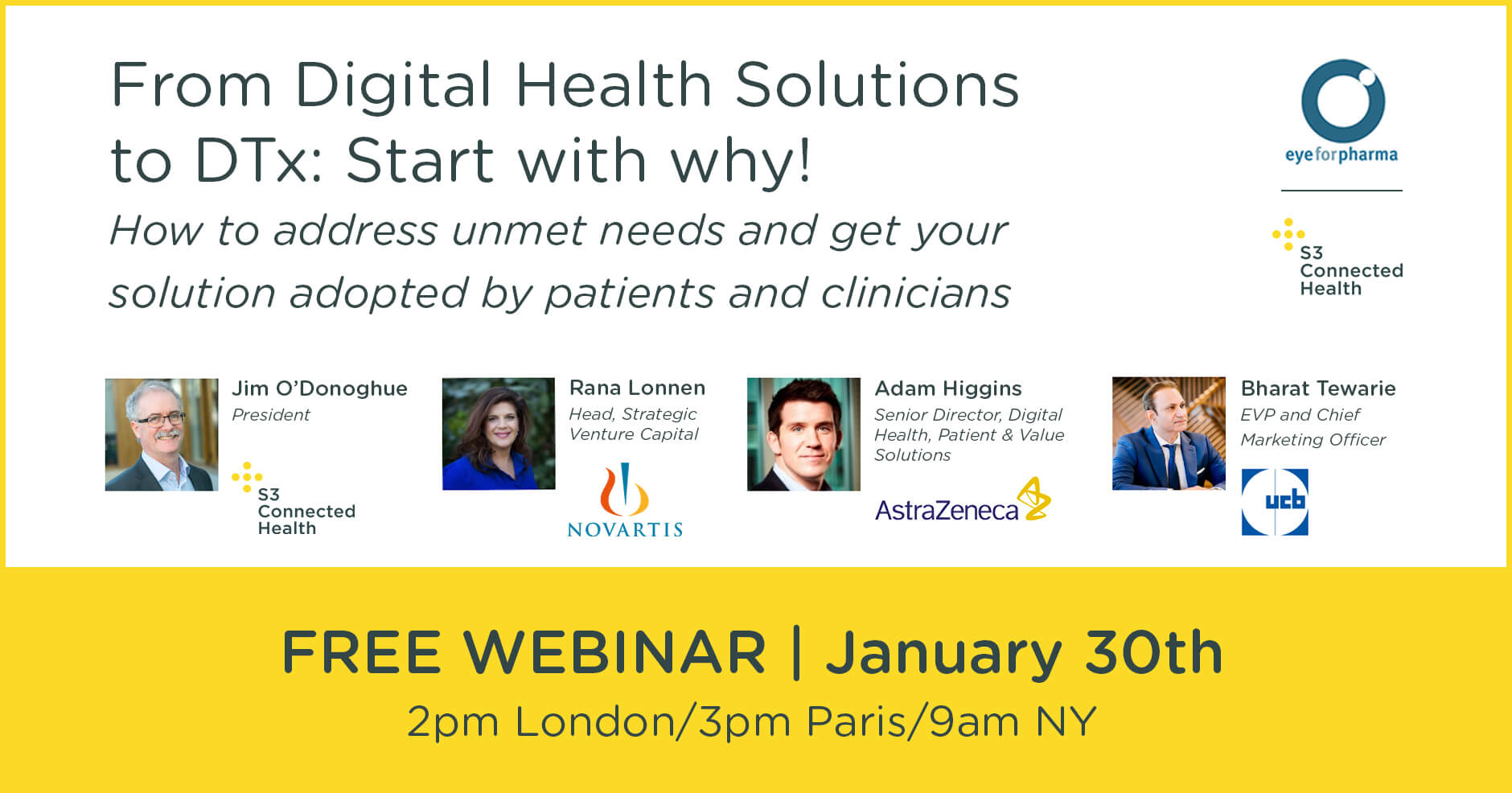 From Digital Health Solutions to Digital Therapeutics: Start with why!
