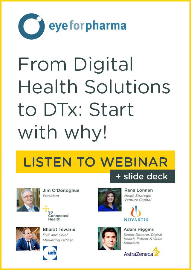 Webinar: From Digital Health Solutions to DTx: Start with why!