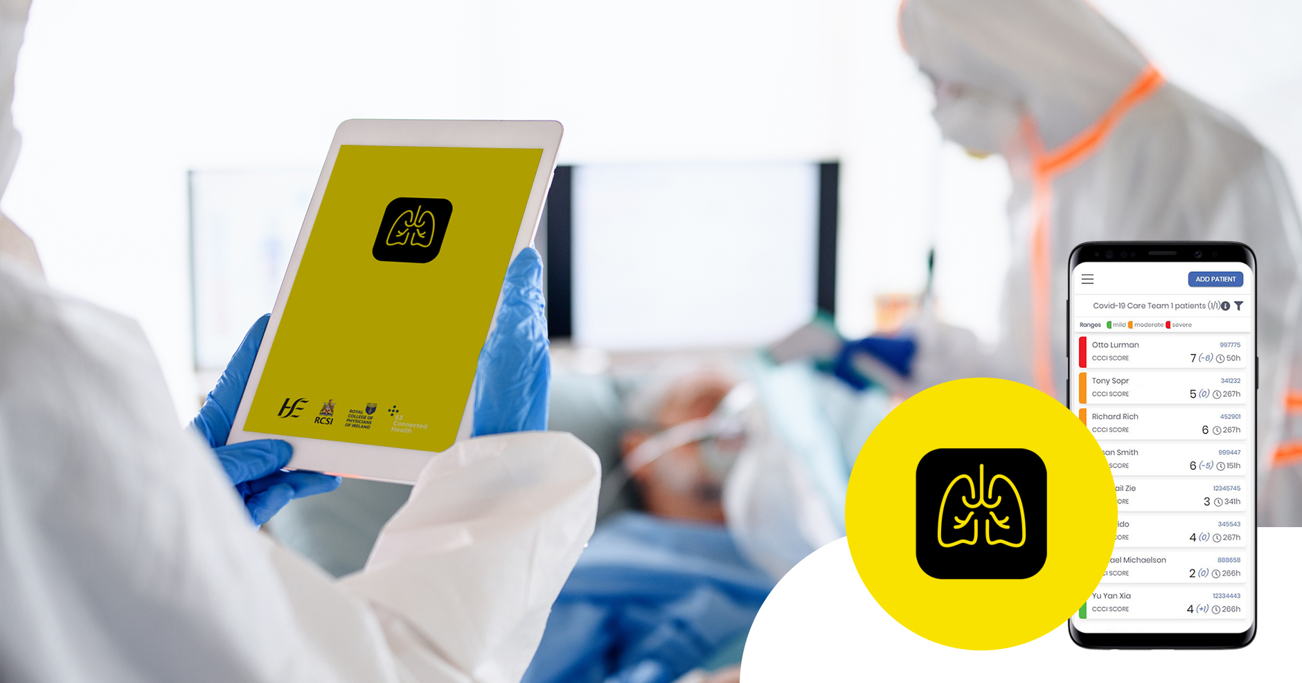 New clinical support tool helps Irish hospitals optimize and scale acute respiratory care for COVID-19 patients