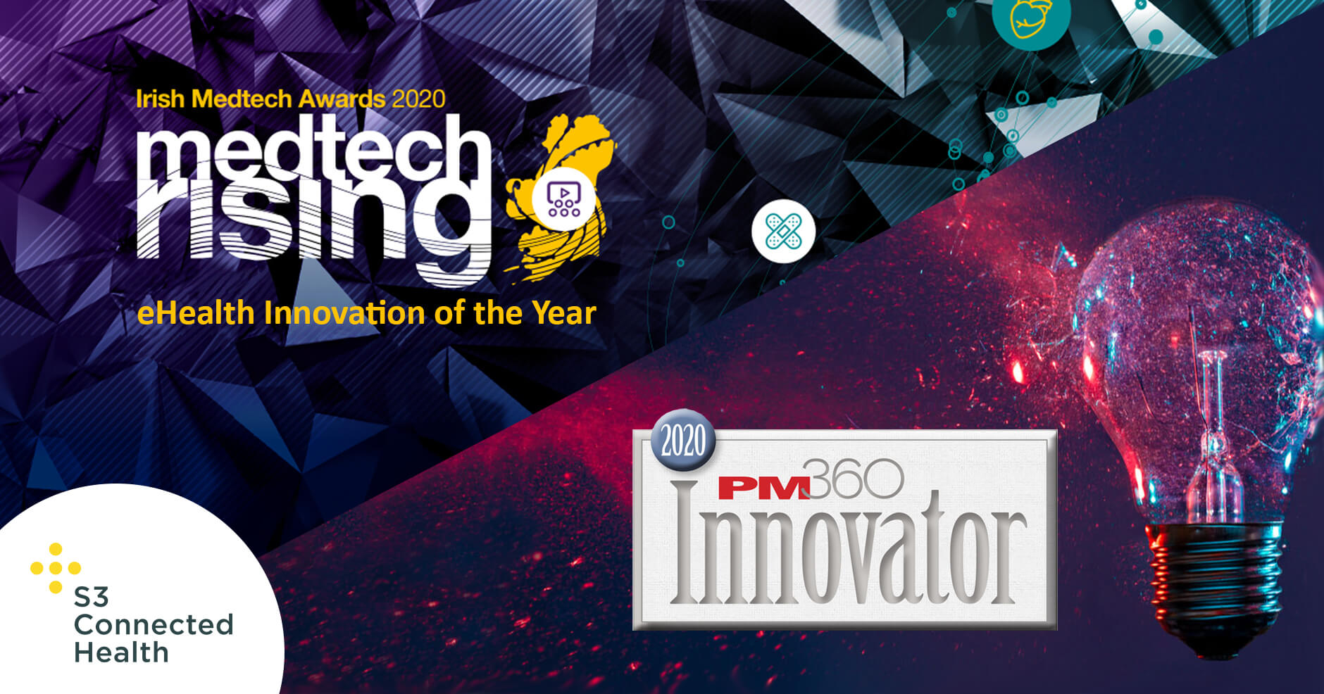 S3 Connected Health recognized for innovation in a time of great need