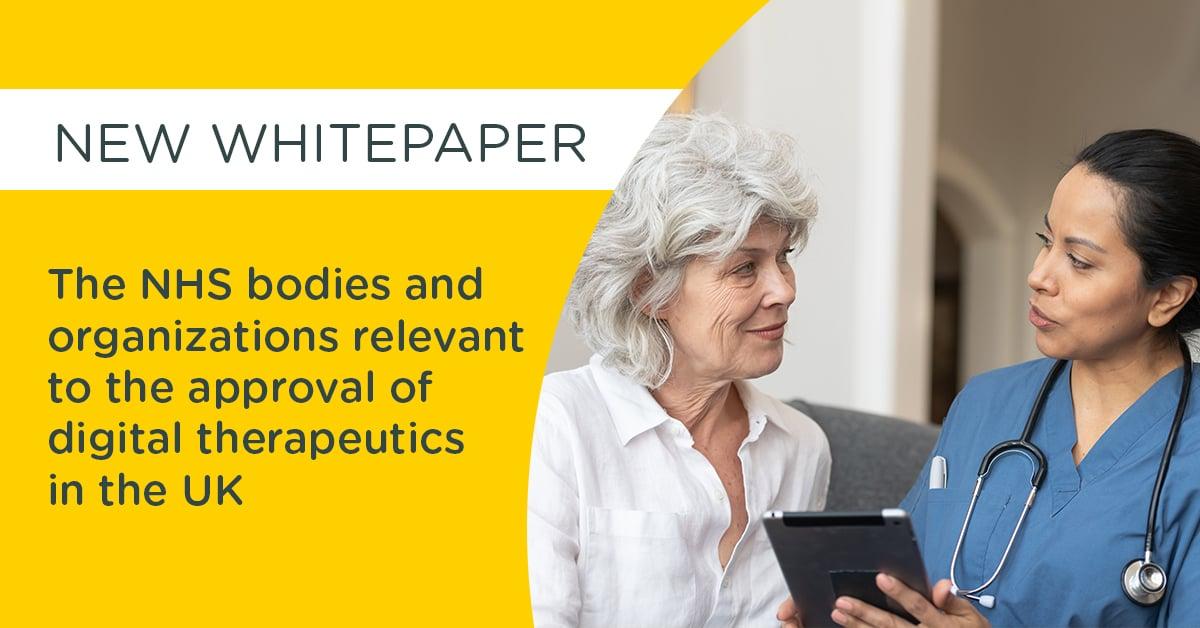 Digital therapeutics in the UK